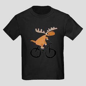 Moose Riding Bicycle T-Shirt