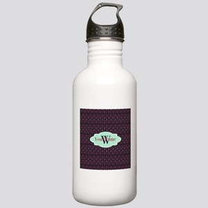 Monogrammed Paper Clip Stainless Water Bottle 1.0L
