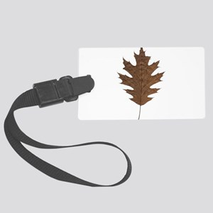 Autumn Fall Seasonal Leaf Luggage Tag