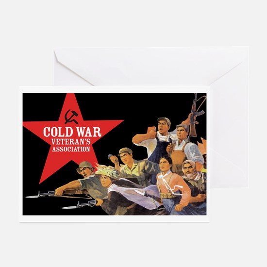 Cold War Veteran's Assn. Greeting Cards (Package o
