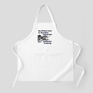 Doberman Pinscher Agility BBQ Apron