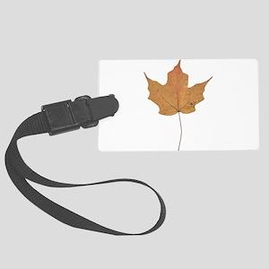 Autumn Leaf Fall Season Luggage Tag