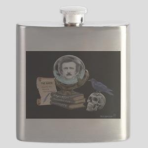 SPIRIT OF EDGAR ALLAN POE Flask