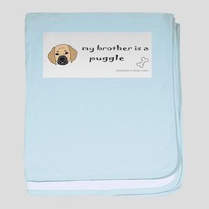 puggle baby blanket