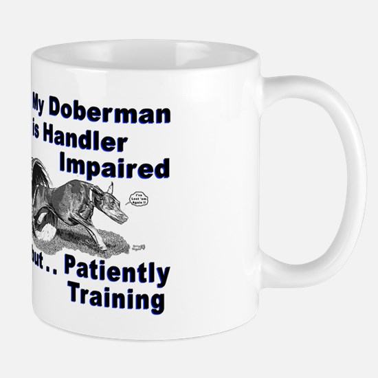 Doberman Pinscher Agility Mug