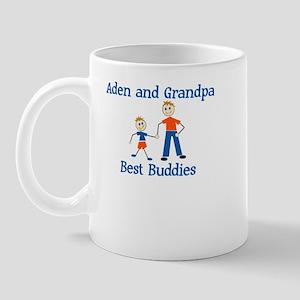 Aden & Grandpa - Best Buddies Mug
