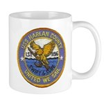 USS HARLAN COUNTY Mug