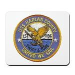 USS HARLAN COUNTY Mousepad