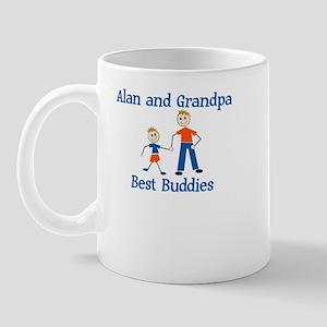 Alan & Grandpa - Best Buddies Mug