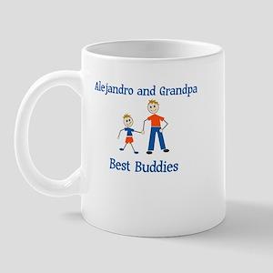 Alejandro & Grandpa - Best Bu Mug
