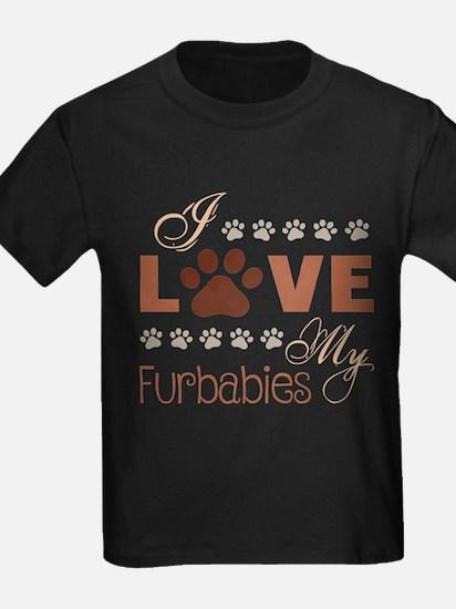 I Love My Furbaby T-Shirt