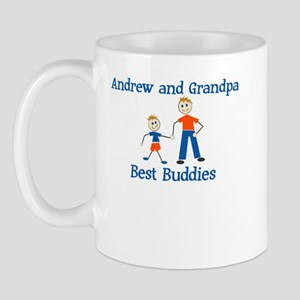Andrew & Grandpa - Best Buddi Mug
