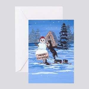 Bernese Mountain Dog DFC Greeting Cards