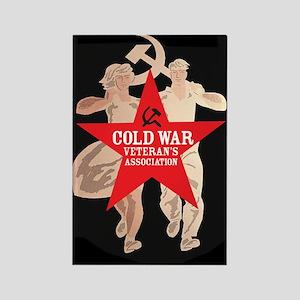 Cold War Veteran's Assn. Rectangle Magnet