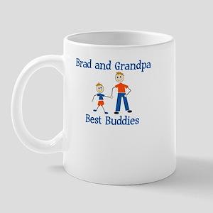 Brad & Grandpa - Best Buddies Mug
