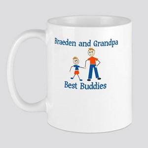 Braeden & Grandpa - Best Budd Mug