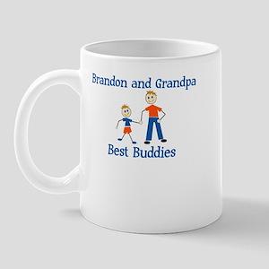 Brandon & Grandpa - Best Budd Mug