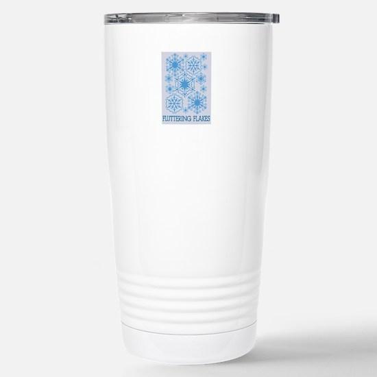 Fluttering Flakes Travel Mug