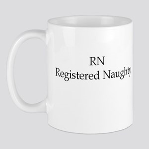 RN registered naughty Mug