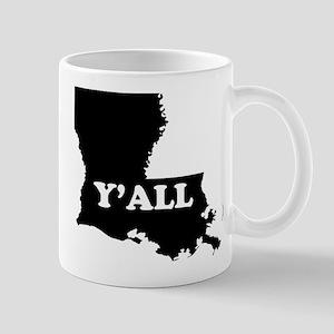 Louisiana Yall Mugs