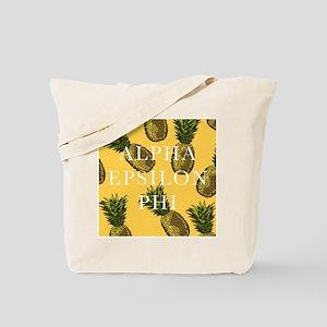 Alpha Epsilon Phi Pineapples Tote Bag