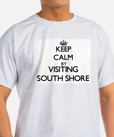 Keep calm by visiting South Shore Illinois T-Shirt