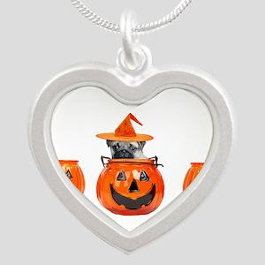 Halloween Pug Dog Necklaces