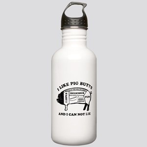 I Like Pig Butts Stainless Water Bottle 1.0L