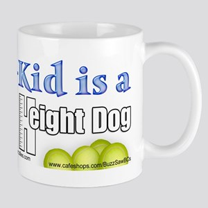 Fur Kid Height Dog Mug