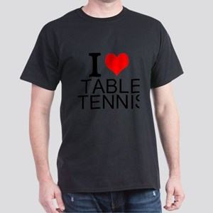 I Love Table Tennis T-Shirt
