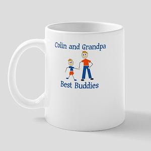 Colin & Grandpa - Best Buddie Mug