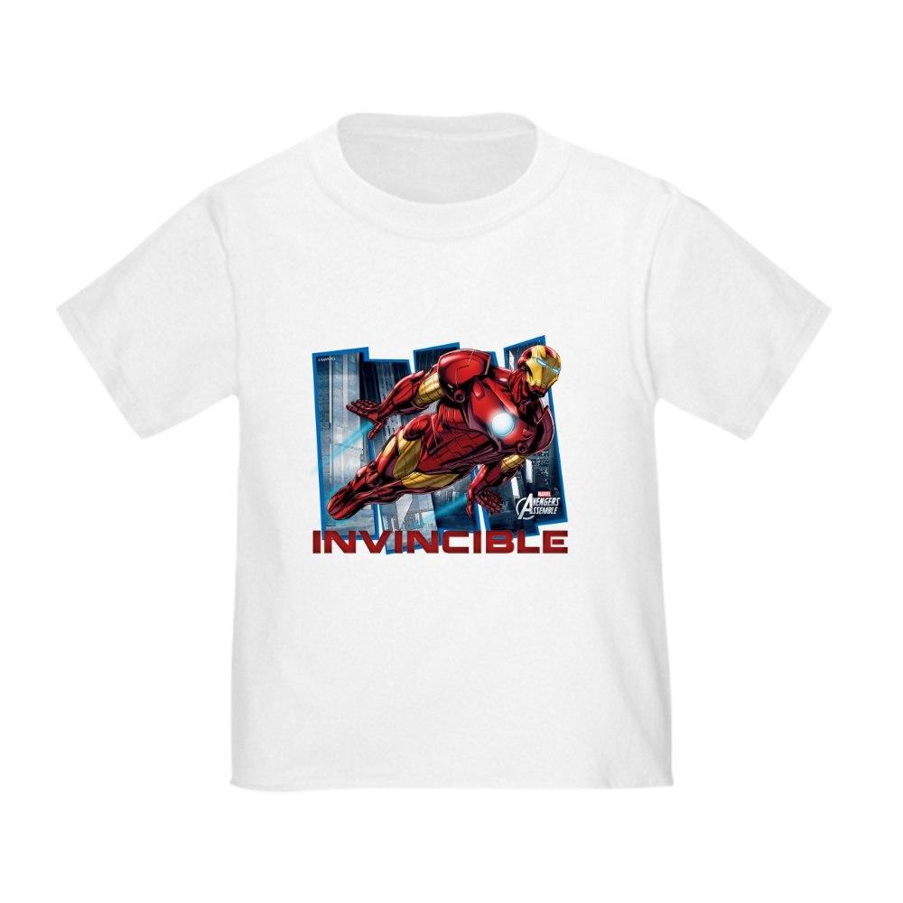 cafepress iron man invincible toddler t shirt toddler t. Black Bedroom Furniture Sets. Home Design Ideas