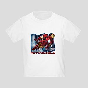 Iron Man Invincible Toddler T-Shirt