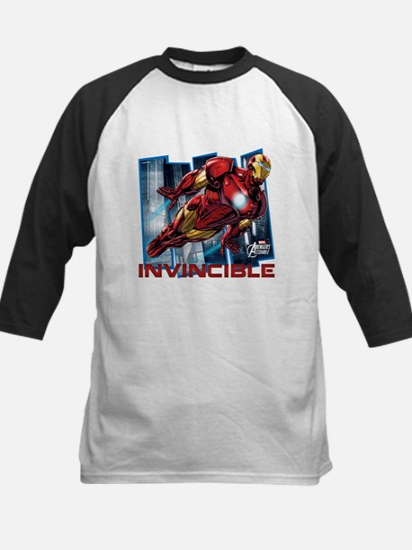 Iron Man Invincible Kids Baseball Jersey