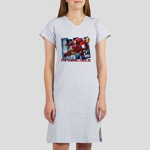 Iron Man Invincible Women's Nightshirt