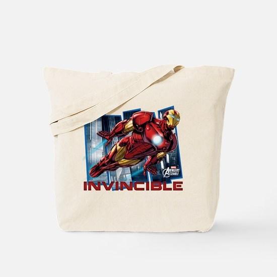 Iron Man Invincible Tote Bag