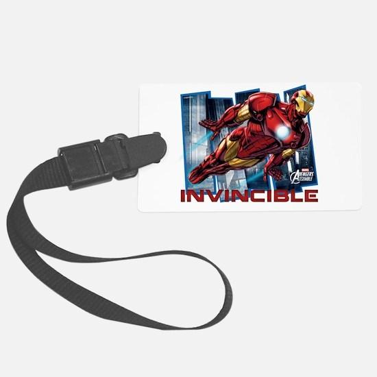 Iron Man Invincible Luggage Tag