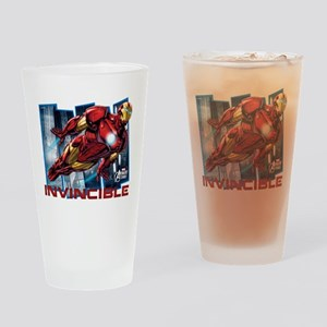 Iron Man Invincible Drinking Glass