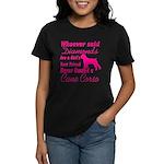 Cane Corso Girls Best Friend Women's Dark T-Shirt