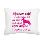 Cane Corso Girls Best Fr Rectangular Canvas Pillow