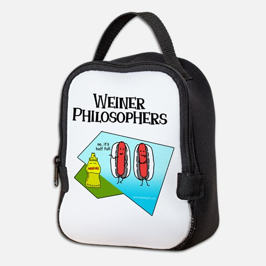 Weiner Philosophers... Neoprene Lunch Bag