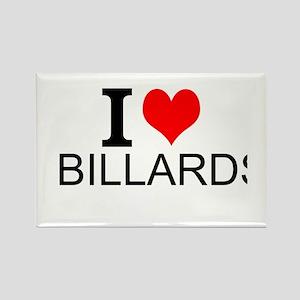 I Love Billards Magnets