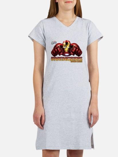 Iron Man Fists Women's Nightshirt