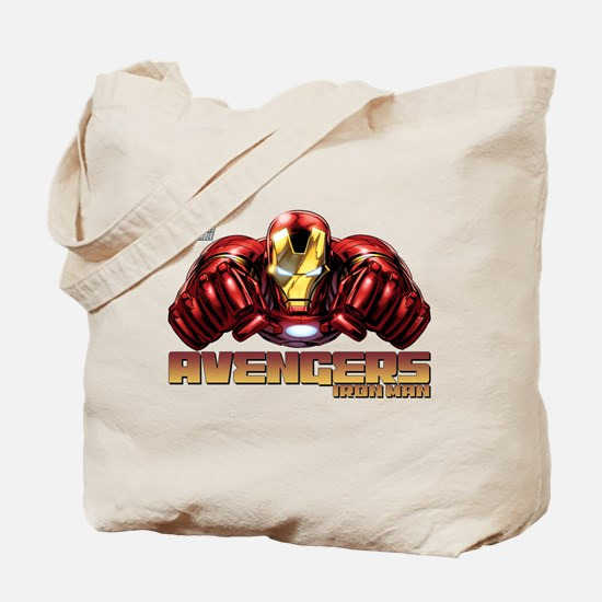 Iron Man Fists Tote Bag
