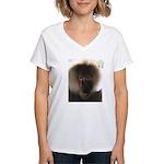R To V Neck Shirt T-Shirt