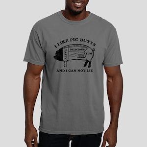 I Like Pig Butts Mens Comfort Colors Shirt