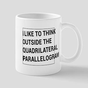 Quadrilateral parallelogram Mugs