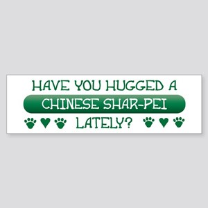 Hugged Shar-Pei Bumper Sticker