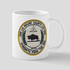 USS LA MOURE COUNTY 11 oz Ceramic Mug