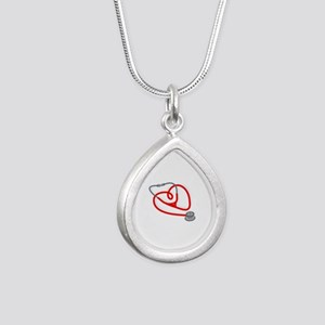 Stethoscope Heart Necklaces